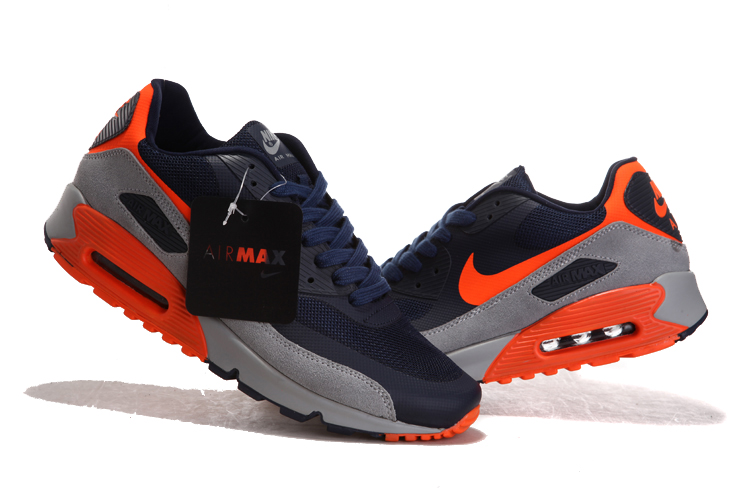 official photos 56b93 78d6d ... sale nike air max 90 noir et orange ce317 294e2