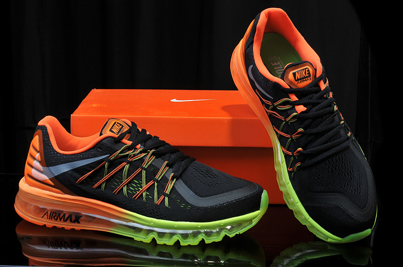 air max 2015 green orange